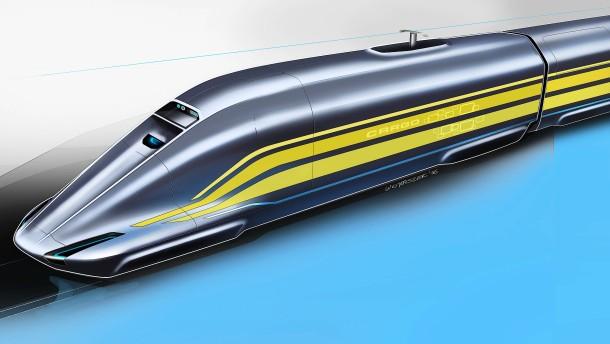 So könnte der Güterzug der Zukunft aussehen