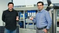 Die Gründer von Boreal Light: Ali Al-Hakim (links) und Hamed Beheshti