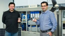 Berliner Wasserkioske liefern in Afrika sauberes Wasser