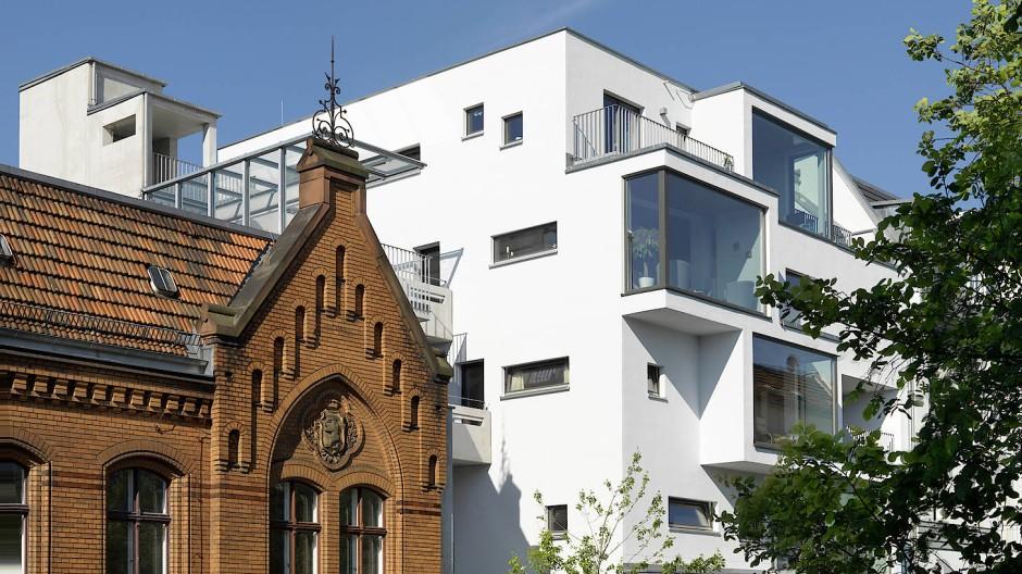 Vorzeigeprojekt C13: So kann urbaner Holzbau auch aussehen.