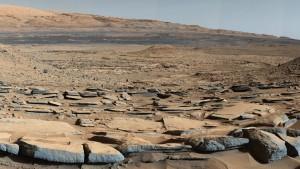 Die Flüsse und Seen des Mars