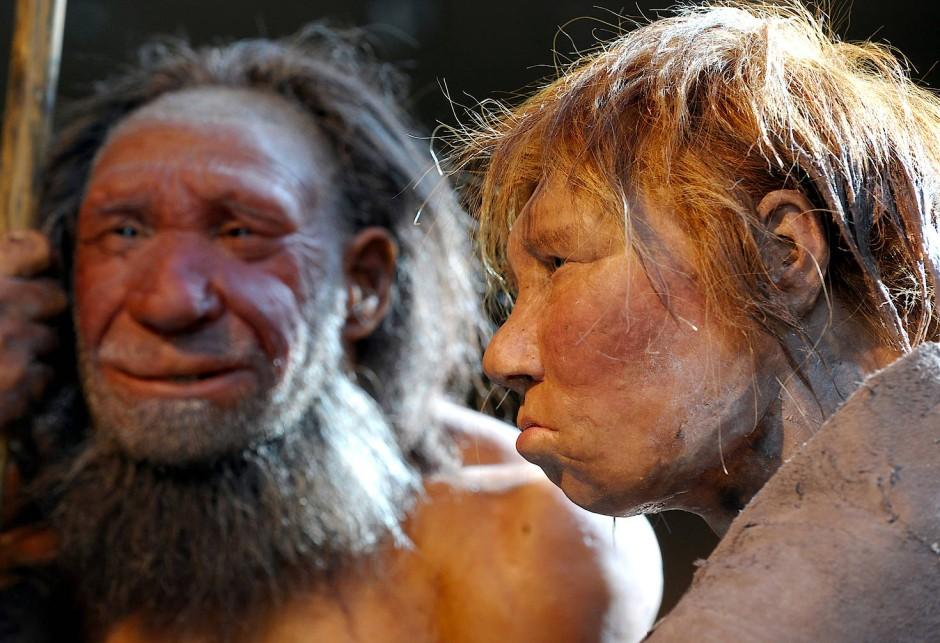 Populationen in der Sackgasse: Auch der Neandertaler gehört zur europäischen Urgeschichte.