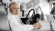Begeisterter Motorsportler: Ulrich Hackenberg ist dem Automobil an sich und dem Rennsport im Speziellen verfallen.