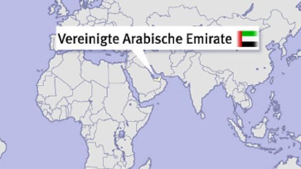 Brief Nach Vereinigte Arabische Emirate : Vereinigte arabische emirate geringe bürokratie und