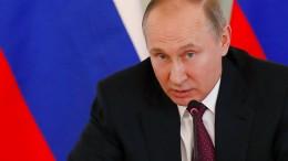 Britische Regierung vermutet Putin hinter Giftanschlag