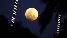 Der Mond spielt verrückt