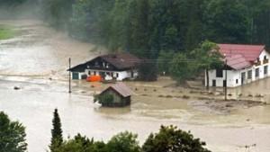 Hochwasser: Saison-Auftakt in Oberstdorf abgesagt