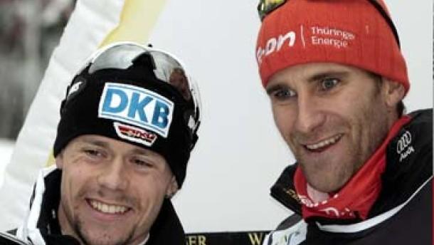 Zweiter Platz für Ackermann und Haseney
