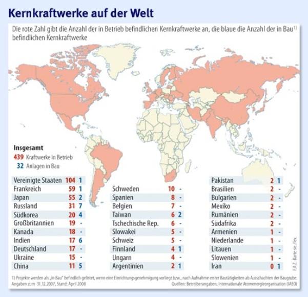 frankreich atomkraftwerke anzahl